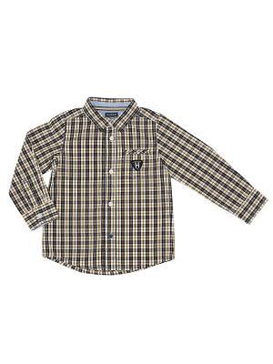 Рубашка CHICCO. Цвет: желтый