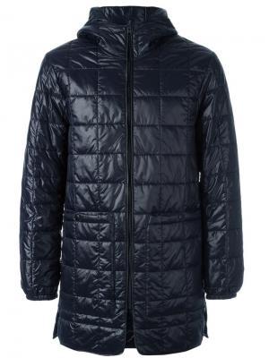Стеганое пальто Stureby Stutterheim. Цвет: синий