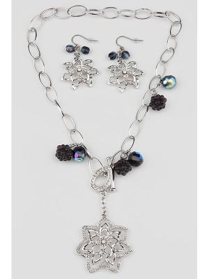 Комплект Inesse M. Цвет: серебристый, лиловый