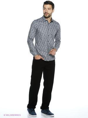 Рубашка Dairos. Цвет: серый