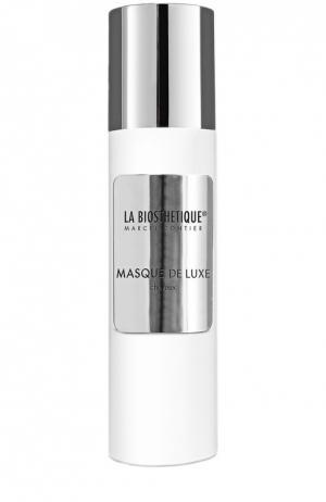 Восстанавливающая маска De Luxe с экстрактами жемчуга и шампанского La Biosthetique. Цвет: бесцветный