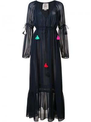 Платье Nicolette Figue. Цвет: синий