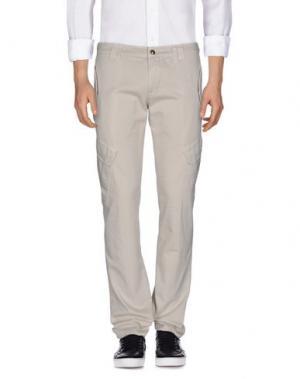 Повседневные брюки DONDUP. Цвет: слоновая кость