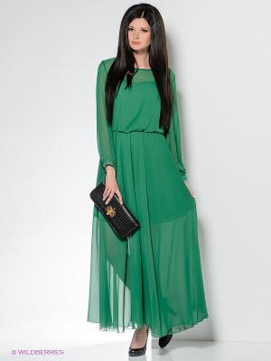 Платье Enna Levoni. Цвет: зеленый