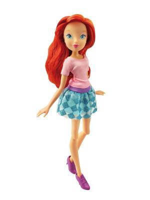 Кукла Winx Club Городская магия Bloom. Цвет: голубой, рыжий, розовый