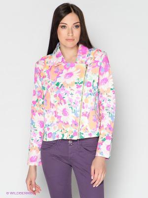Жакет F5. Цвет: белый, розовый, зеленый, синий, сиреневый