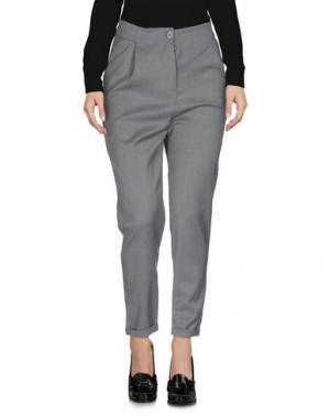 Повседневные брюки BOUTIQUE de la FEMME. Цвет: свинцово-серый