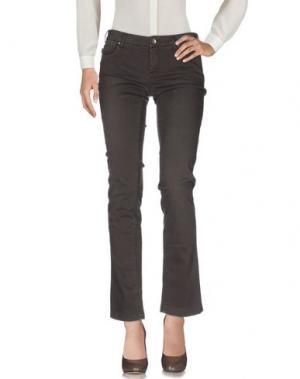 Повседневные брюки TRAMAROSSA. Цвет: темно-коричневый
