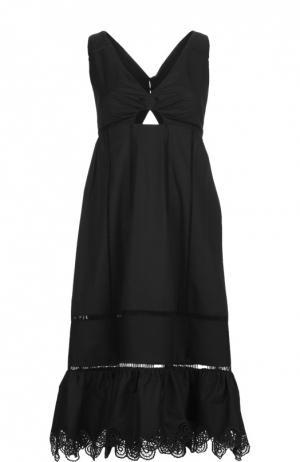 Платье Thakoon. Цвет: черный