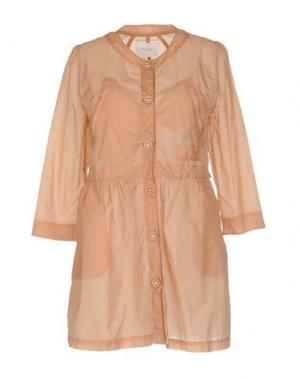 Легкое пальто ANONYME DESIGNERS. Цвет: песочный