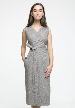 Платье Kira Mesyats. Цвет: серый