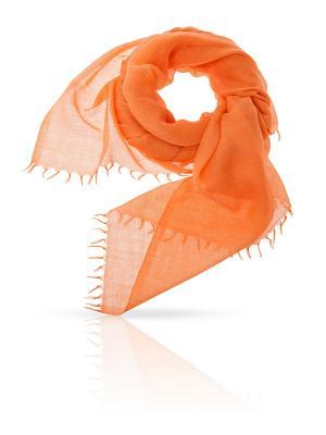 Палантин Michel Katana. Цвет: светло-оранжевый