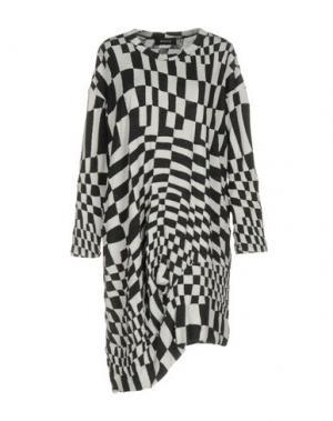 Короткое платье ZUCCA. Цвет: черный