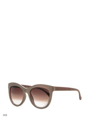 Очки солнцезащитные Vittorio Richi. Цвет: бежевый