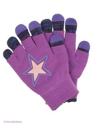 Перчатки для сенсорных экранов TERRITORY. Цвет: сиреневый