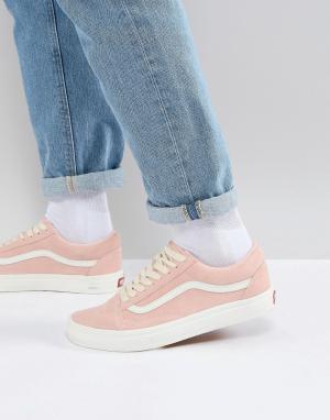 Vans Розовые кроссовки Old Skool VA38G1QSK. Цвет: розовый