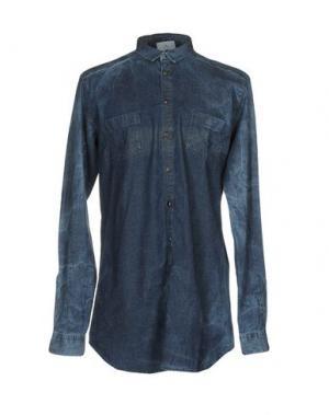 Джинсовая рубашка CHOICE NICOLA PELINGA. Цвет: синий