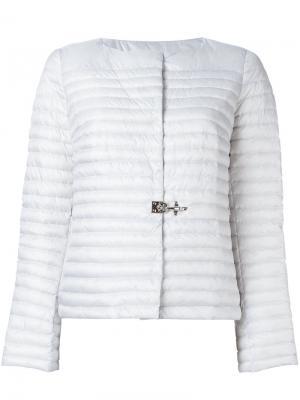 Куртка-пуховик Fay. Цвет: серый
