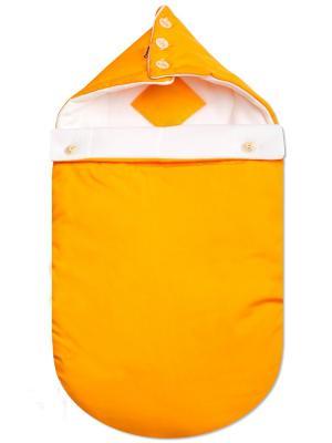 Конверт Futurmama. Цвет: оранжевый