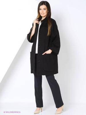Пальто SUCCESS. Цвет: черный