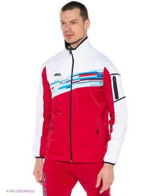 Куртка Forward. Цвет: красный