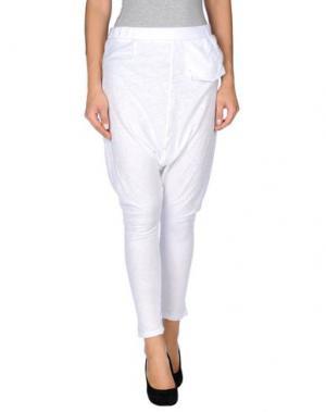 Повседневные брюки SUPERFINE. Цвет: белый