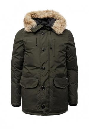 Куртка утепленная Kamora. Цвет: хаки