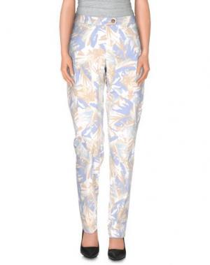 Повседневные брюки SEDUCTIVE. Цвет: небесно-голубой