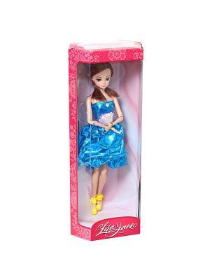 Кукла шарнирная Алина 28 см. Lisa Jane. Цвет: синий, желтый