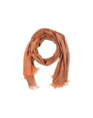 Палантин MOSAIQUE. Цвет: оранжевый