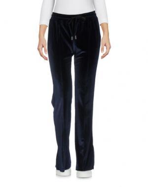 Повседневные брюки MICHELA MII. Цвет: темно-синий