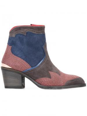 Ботинки Freddy Flame Nubikk. Цвет: многоцветный