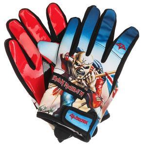 Перчатки сноубордические  Misty Glove Iron Maiden Trooper Celtek. Цвет: мультиколор