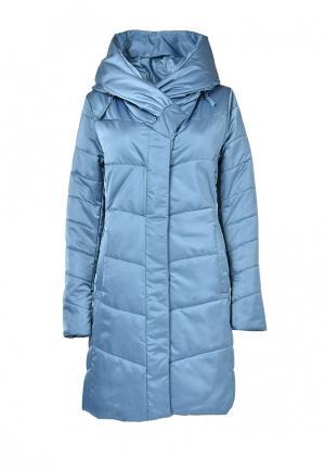 Куртка утепленная Grafinia. Цвет: голубой