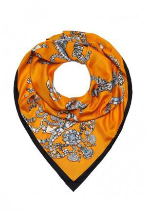 Платок Sabellino. Цвет: оранжевый