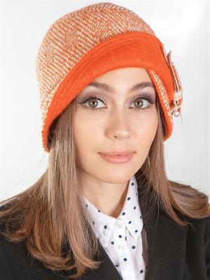 Шляпка LORICCI. Цвет: бежевый, оранжевый