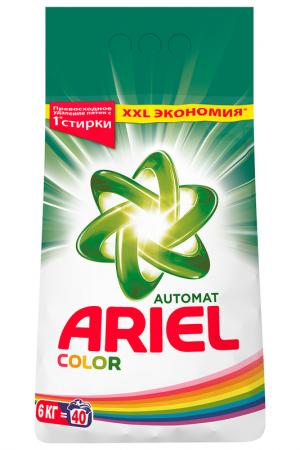 Автомат Color, 6 кг ARIEL. Цвет: none