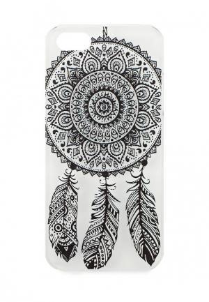 Чехол для iPhone Kawaii Factory. Цвет: черно-белый