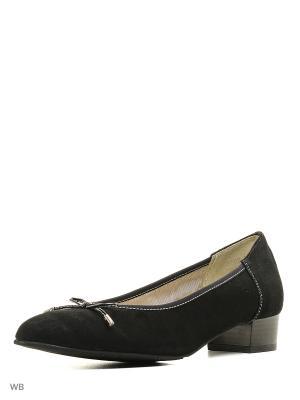 Туфли ELITE. Цвет: черный