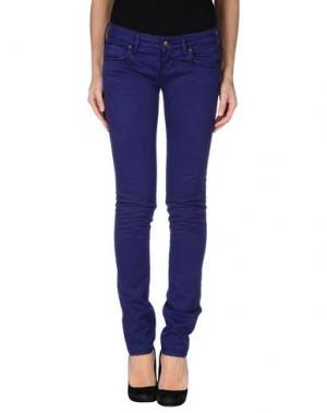 Повседневные брюки ZU+ELEMENTS. Цвет: розовато-лиловый