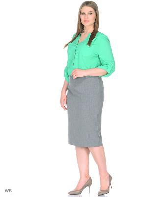 Блузка RusLana. Цвет: светло-зеленый