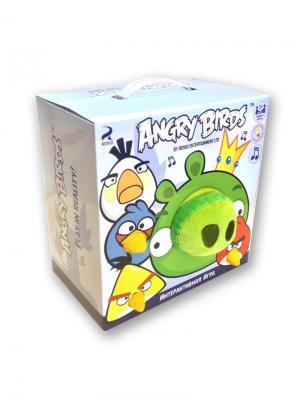 Интерактивная игра Свинка в короне и 4 птички CHERICOLE. Цвет: зеленый, голубой, красный, желтый, белый