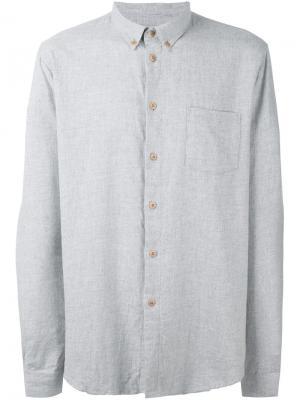 Фланелевая рубашка Folk. Цвет: серый
