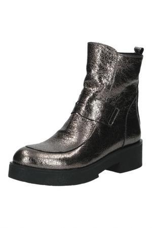 Ботинки SpringWay. Цвет: серебро
