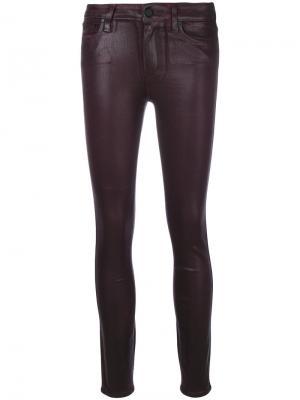 Укороченные брюки Hoxton Paige. Цвет: розовый и фиолетовый