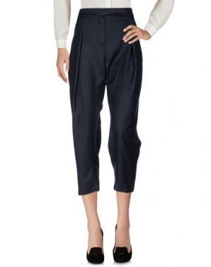 Повседневные брюки MAISON KITSUNÉ. Цвет: темно-синий