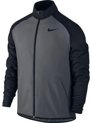 Куртка M NK DRY JKT TEAM WOVEN Nike. Цвет: серый, черный