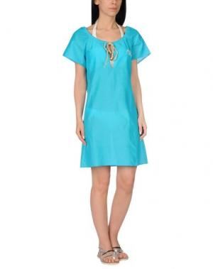 Пляжное платье ALVIERO MARTINI 1a CLASSE BEACHSTYLE. Цвет: бирюзовый