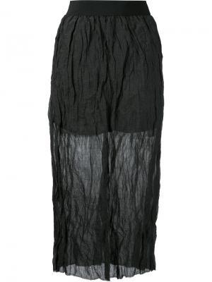SILETTA skirt Nehera. Цвет: чёрный