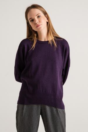 Свитер BGN. Цвет: темно-фиолетовый